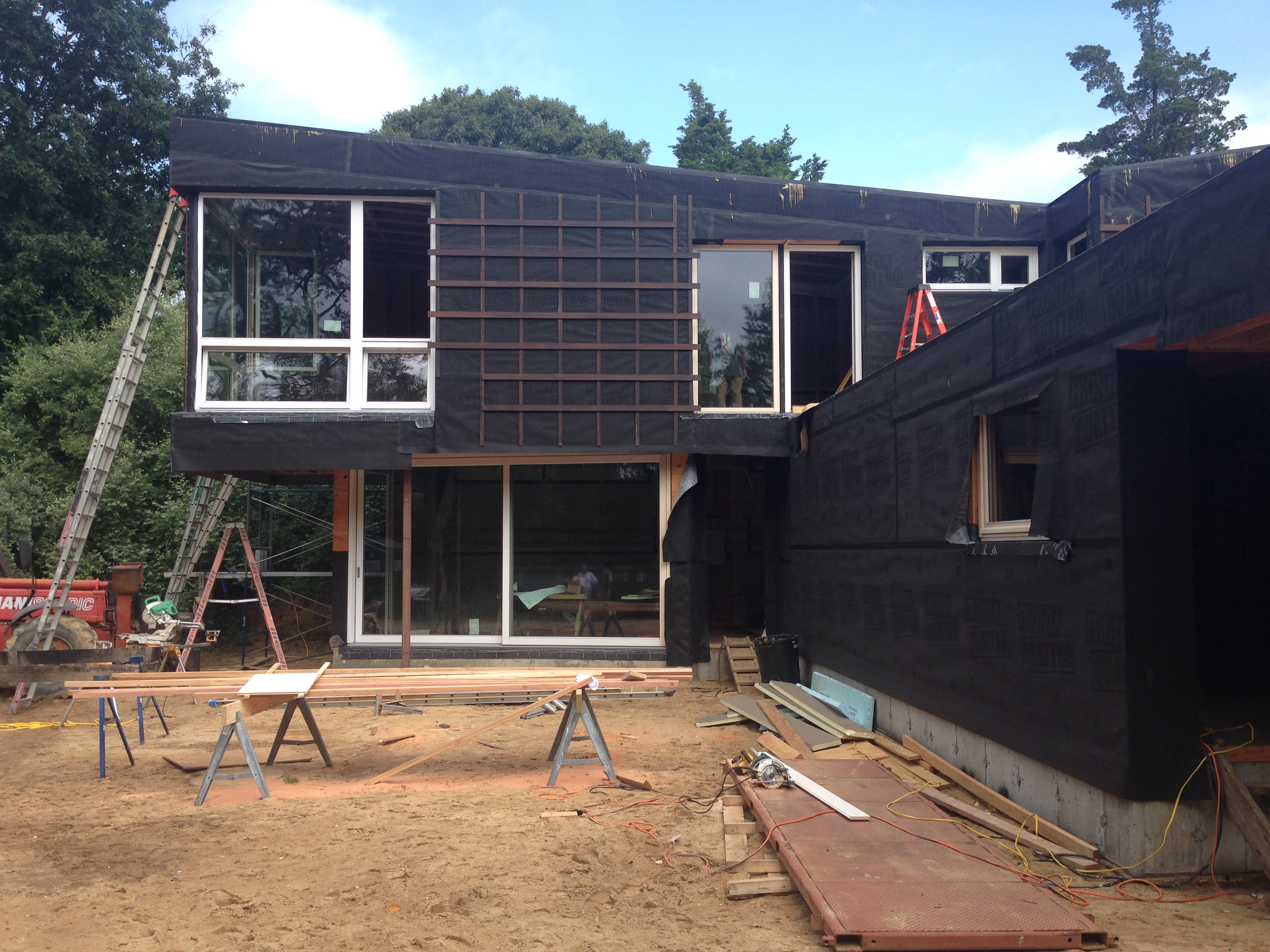 SOLITEX Fronta Quattro taped with TESCON Invis. Credit: Ryall Poerter Sheridan Architects