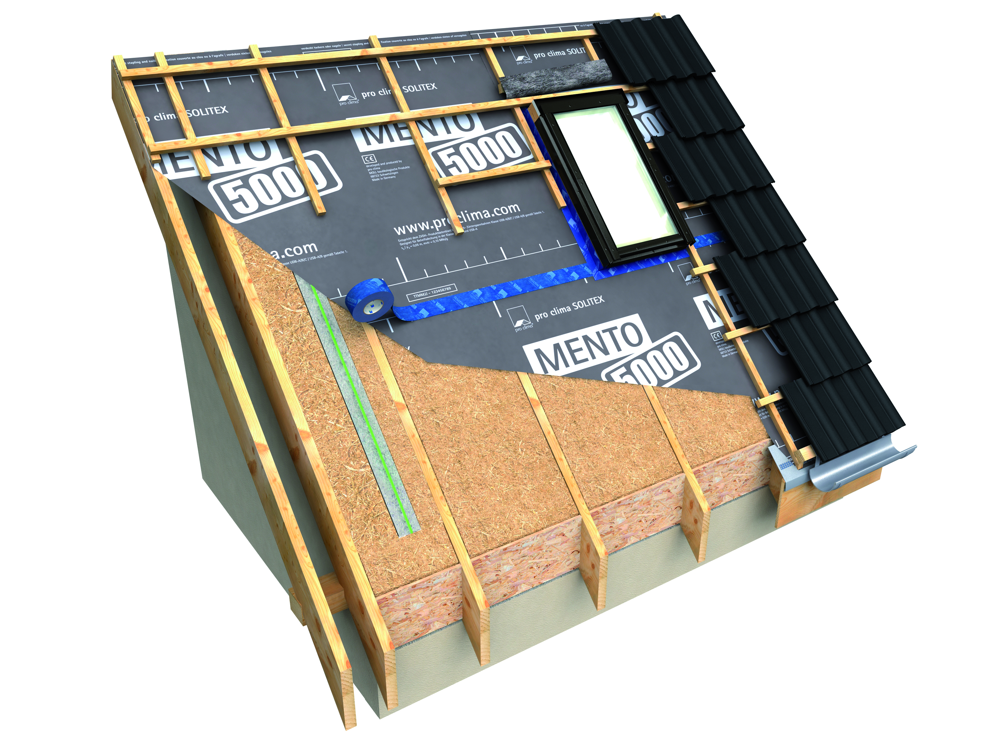 A high performance roof should be vented - how to do this properly ...